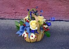 Summer Celebrations Basket arrangement in Hutchinson, MN | CROW RIVER FLORAL & GIFTS