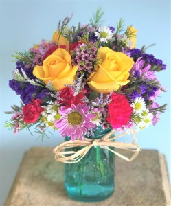 Summer Medley  Vased Arrangement in Winter Springs, FL | WINTER SPRINGS FLORIST AND GIFTS