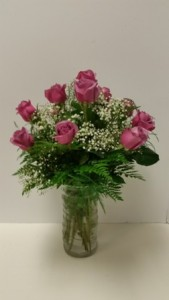 Summer Time Special Dozen Short Stem Roses in Brandon, FL | WHIDDEN FLORIST