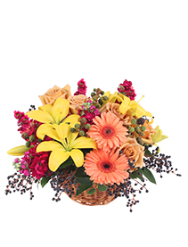 Sun-Kissed Country Floral Arrangement