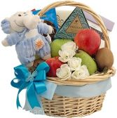 SWEET ARRIVAL BOY GIFT BASKET in Clarksburg, MD | GENE'S FLORIST & GIFT BASKETS
