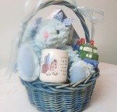 Sweet Baby Basket For a boy, customizable