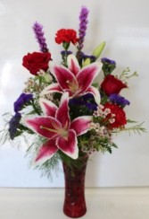 Star Struck Vase arrangement