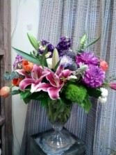 Symphony of Color Floral Arrangement