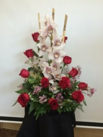 SYMPHONY OF ROSES & ORCHIDS DD-209