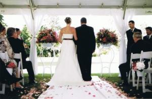 T & S Wedding Ceremony Flowers in Delta, BC | FLOWERS BEAUTIFUL