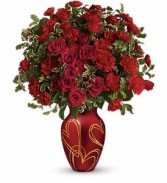 Teleflora Hearts of Gold Bouquet