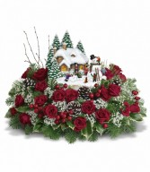 Teleflora Kinkade's Winter Wonder in Eldersburg, MD | RIPPEL'S FLORIST