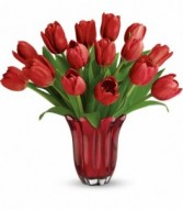 Teleflora  Kissed By Tulips in Eldersburg, MD | RIPPEL'S FLORIST
