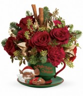 Teleflora Night Before Christmas in Eldersburg, MD | RIPPEL'S FLORIST