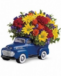 Teleflora's '48 Vintage Ford Father's Day