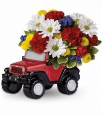 Teleflora's Jeep Wrangler Father's Day