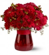Teleflora's Lady in Red bouquet in Caldwell, ID | BAYBERRIES FLORAL