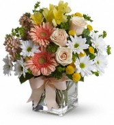 Teleflora's Walk in the Country Bouquet  Birthday Vase