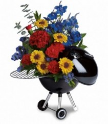 Teleflora's Weber Grill Father's Day