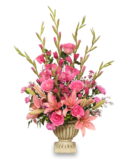 Sympathy Flower Baskets Delivery : Tender tribute sympathy arrangement in fitchburg ma