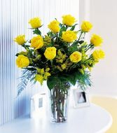 Texas Star One Dozen Yellow Roses