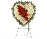 Tf189-7 Tribute Heart funeral