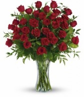 The 3 Dozen Long Stemmed Roses Arrangement