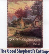 The Good Shepherd's Cottage Tapestry
