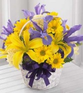 The Spirit of Spring� Basket by FTD� - BASKET INCL in Bowerston, OH | LADY OF THE LAKE FLORAL & GIFTS