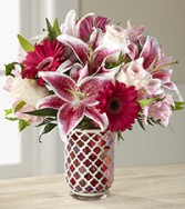 The Sweet Life Bouquet vase