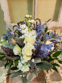 The Wedgewood  Bridal Bouquet