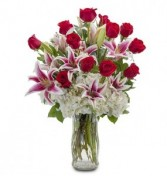 the WOW factor Valentine's Day Bouquet