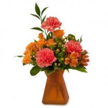 Orange Dreams Fresh Flower Arrangement