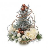 Whimsical Wonderland Christmas Tree Centerpiece