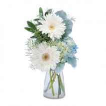 Blue Mist Fresh Flower Arrangement