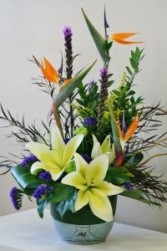 TROPICAL BREEZE  Arrangement of Flowers