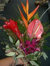 TROPICAL HAND TIED Bouquet in East Hampton, CT | ESPECIALLY FOR YOU