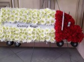Trucker  Funeral Spray in Jonesboro, AR | HEATHER'S WAY FLOWERS & PLANTS
