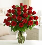 TWO DOZEN RED ROSES in Edison, NJ | E&E FLOWERS AND GIFTS