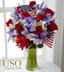 Unity Bouquet Memorial Day Arrangement