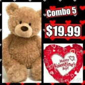 Valentine's Day Combo #5 Local Delivery  (Available February, 11th-14th)