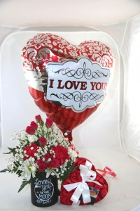 Valentine's Day Special Custom Fitzgerald Flowers Arrangement in La Grande, OR | FITZGERALD FLOWERS