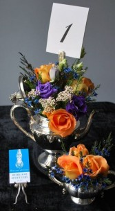 Vintage Flower Centerpiece Wedding & Special events