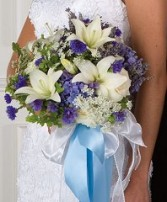 BRIDAL BOUQUET Wedding Flowers WS23-11 in Conroe, TX | FLOWERS TEXAS STYLE