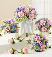 Wedding bouquet package in Pastel