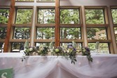 Wedding Centerpiece Log woodland centerpiece