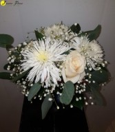 Wedding-Simply stated bouquet