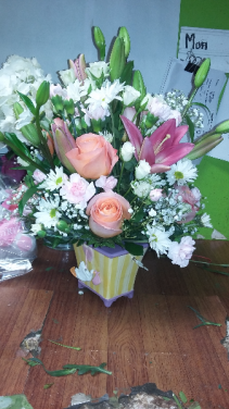 wellcome baby new baby flowers