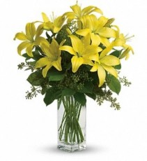 WF321 Yellow Lilies