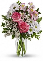 What a Treat  Vase Arrangement  in Elyria, OH | PUFFER'S FLORAL SHOPPE, INC.