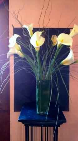 White Calla Lilies Flower arrangement in New York, NY | FLOWERS BY RICHARD