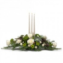 Winter Elegance Fresh Flower Arrangement