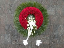 with all our love  wreath # 303