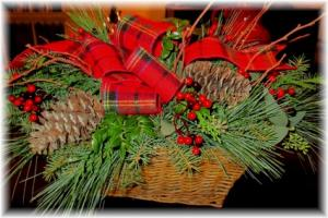 Woodland Basket an Inspriations Original Design in Lock Haven, PA | INSPIRATIONS FLORAL STUDIO